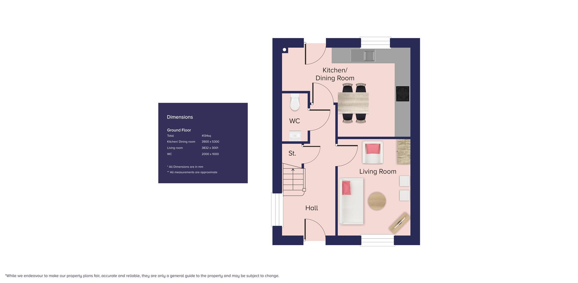 North Eastern Quadrant, Poundbury_Plot 202_GF_B.jp